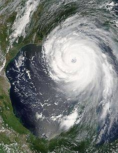 Hurricane Katrina, picture from NASA