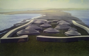 Reconstruction of Ness of Brodgar Healing Sanctuary and Temple